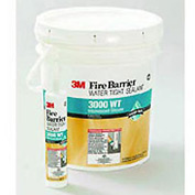 3m™ Fire Barrier Water Tight Silicone Sealant 3000 Wt, 10.1 Oz. Cartridge - Pkg Qty 12