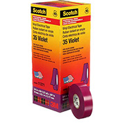 "3M Scotch® Vinyl Electrical Color Coding Tape 35-Violet, 3/4"" X 66', 80610834006 - Pkg Qty 10"