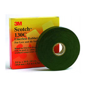 "3m™ Scotch® Linerless Rubber Splicing Tape 130c, 1"" X 30' - Pkg Qty 24"