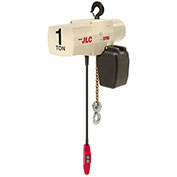 Coffing JLC Electric Chain Hoist With Chain Container, 1 Ton Cap., 10 Ft. Lift, 16 Fpm 115/230V
