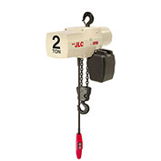 Coffing JLC Electric Chain HoistWith Chain Container, 2 Ton Cap., 10 Ft Lift, 8 Fpm 230/460V