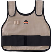 Ergodyne® 12004 Chill-Its® 6235 Phase Change Standard Cooling Vest, Khaki, L/XL