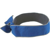 12347 Chill-Its® 6700MF Evaporative Microfiber Cooling Tie Bandana, Blue - Pkg Qty 6