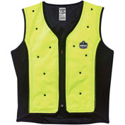 Ergodyne® 12673 Chill-Its® 6685 Dry Evaporative Cooling Vest, Lime, M