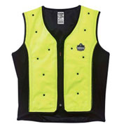 Ergodyne® 12674 Chill-Its® 6685 Dry Evaporative Cooling Vest, Lime, L