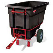Rubbermaid® 1306-41 1/2 Cubic Yard Towable Plastic Tilt Truck