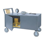 Jamco Security Service Cart RX348 48x30 2400 Lb. Capacity