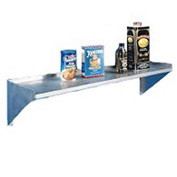 "Aero Manufacturing 4BW-1260 60"" Wall Mount Shelf With One Inch Lip"