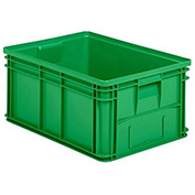 "Schaefer Stacking Transport Container 14/6-1 PL - 25""L x 18""W x 12""H, Green"