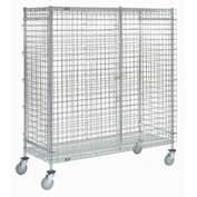 Nexel® Wire Security Storage Truck 36 x 24 x 69 1200 Lb. Capacity