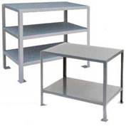 2 Shelf Machine Table 48 X 24