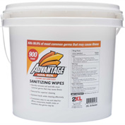 2XL GymWipes Advantage Sanitizing Bucket - 900 Wipes/Roll - 2/Case - 2XL-35