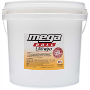 2XL GymWipes/CareWipes Mega Roll Bucket - 1,200 Wipes/Roll - 2/Case - 2XL-419