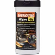 2XL Lubricating Wipes with PTFE - 40 Wipes/Roll - 6/Case - 2XL-610