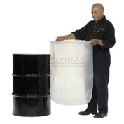 Protective Lining Corp. VLN55 55 Gallon Drum Insert Smooth 15 Mil Thick - Pkg Qty 20