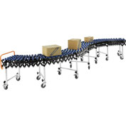 Portable Flexible & Expandable Conveyor - Nylon Skate Wheels - 175 Lbs. Per Foot