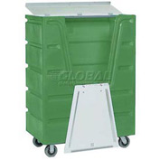 Dandux Green Hopper Front Security Bulk Truck 51-2460SE 48 Cu. Ft.