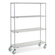 Nexelate Wire Shelf Truck 60x18x80 1200 Pound Capacity