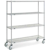 Nexelate Wire Shelf Truck 72x18x80 1200 Pound Capacity