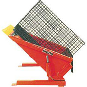 PrestoLifts™ Floor Level Powered Tilt Table TZ50-60H Hand Control 6000 Lb.