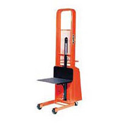 PrestoLifts™ Pacemaker Battery Powered Lift Stacker B552 1000 Lb. 24 x 24 Platform