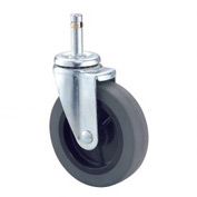 "4"" Rubber Swivel Casters Set Of 4"