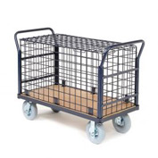 Euro Wire Security Truck 48 x 24 1200 Lb. Capacity