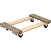 Akro-Mils® RD3018CE3R Premium Hardwood Dolly Carpeted Ends 900 Lb. Capacity