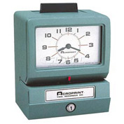Heavy Duty Payroll Time Recorder Manual