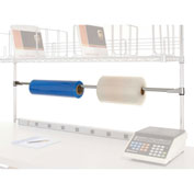 Tape Dispenser/Roll Holder For Bench Or Riser