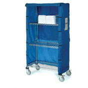 "60""W X 24""D X 63""H Blue Nylon Cover"