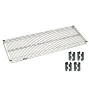 "Nexel S1860C Chrome Wire Shelf 60""W x 18""D with Clips"