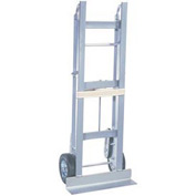 "Wesco® Aluminum Appliance Hand Truck 230001 750 Lb. 6"" MORT Wheels"