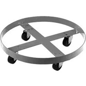 Stainless Steel Drum Dolly for 30 Gallon Drum - 800 Lb. Capacity