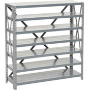"Bin Shelving Open Shelving Without Bins 36""W x 18""D x 39""H"