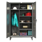 Strong Hold® Heavy Duty Wardrobe Storage Cabinet 56-W-245 - 60x24x78