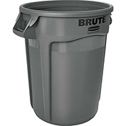 Rubbermaid Brute® 2643-60 Trash Container w/Venting Channels, 44 Gallon - Gray