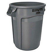 Rubbermaid Brute® 2655 Trash Container 55 Gallon - Gray