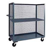 Jamco Clearview Truck ZR348 with Adjustable Shelf 48 x 30 2000 Lb. Capacity