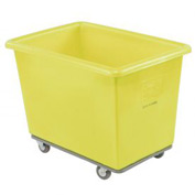 Dandux Yellow Plastic Box Truck 6 Bushel Heavy Duty