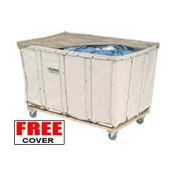 Best Value 24 Bushel Canvas Basket Bulk Truck