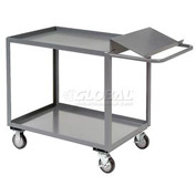 Jamco Two Shelf Order Picking Cart SO360 60x30 Flush Top Shelf