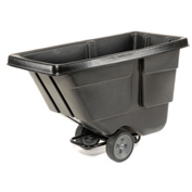 Rubbermaid® 9T17 Light Duty 1/2 Cu. Yd. Black Tilt Truck