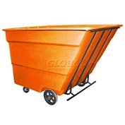 Bayhead Products Orange Medium Duty 3 Cubic Yard Tilt Truck 2500 Lb. Capacity