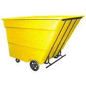 Bayhead Products Yellow Medium Duty 3 Cubic Yard Tilt Truck 2500 Lb. Capacity