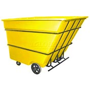 Bayhead Products Yellow Heavy Duty 3 Cubic Yard Tilt Truck 2800 Lb. Capacity