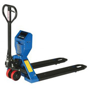 Low Profile Pallet Jack Scale Truck 5000 Lb. Capacity 27 x 48 Forks