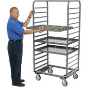 Jamco Steel Tray Truck TT233 24 x 33 x 69 with 28 Tray Capacity