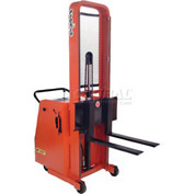 "PrestoLifts™ Battery Powered Lift Counter Balance Stacker C62A-1000 62""H"