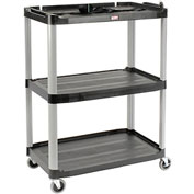 Rubbermaid Audio Visual Cart 36 x 20 x 48
